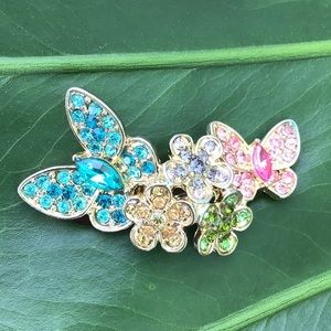 🦋💕Katy Perry Prism Butterfly Ring